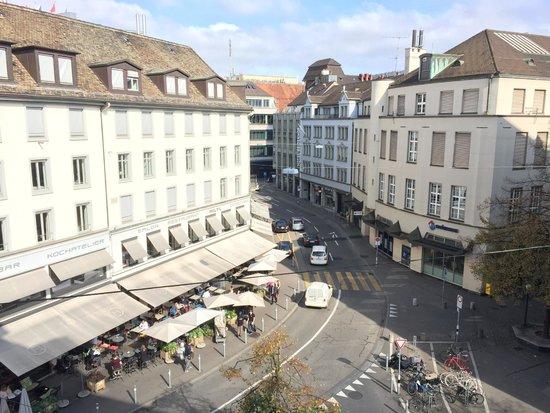 Hotel Glockenhof: view from room 305