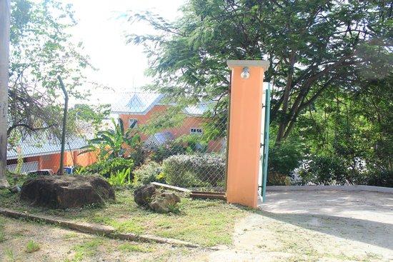 Tobago's Hibiscus Golf Villas & Apartments : Entrance