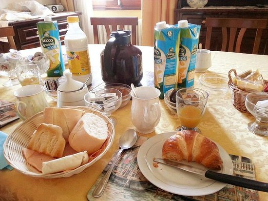 B&B Casa delle Rose : BRAVO breakfast !!!