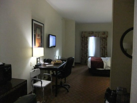 Comfort Suites Salem: Spacious room