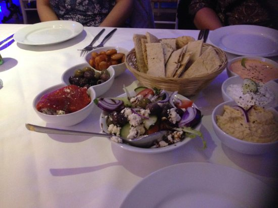 The Meze House: Meat Meze for two (enough for three)