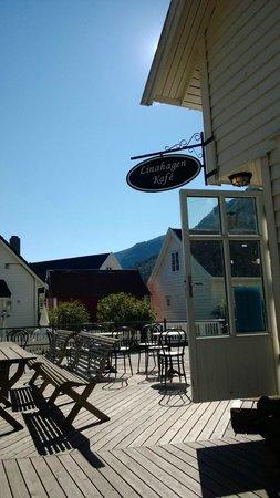 Linahagen Cafe: Ingresso