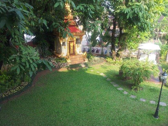 Mandala Boutique Hotel : Jardin