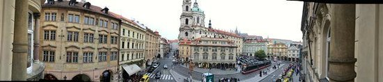 Malostranska Residence: Panoramic from our 2nd Floor Balcony