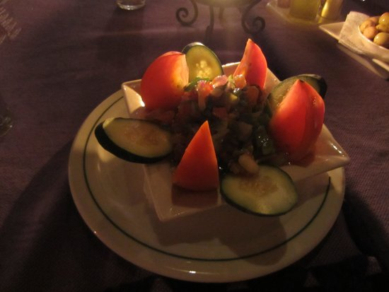 Aladdin Restaurant : Moroccan salad