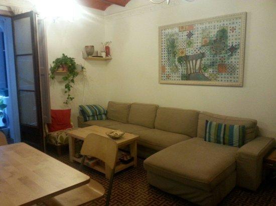 "Primavera Hostel: One of the ""chill"" areas"