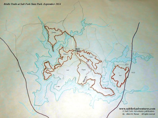 Salt Fork State Park : Bridle Trails -Six