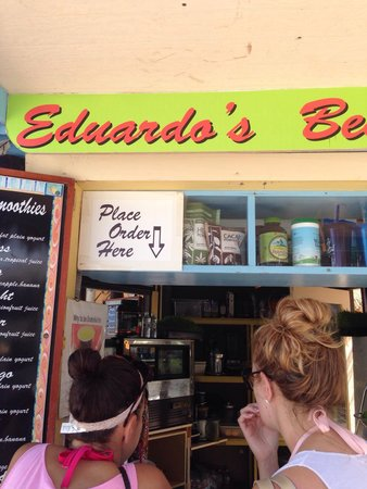 Eduardo's Beach Shack: Great selections