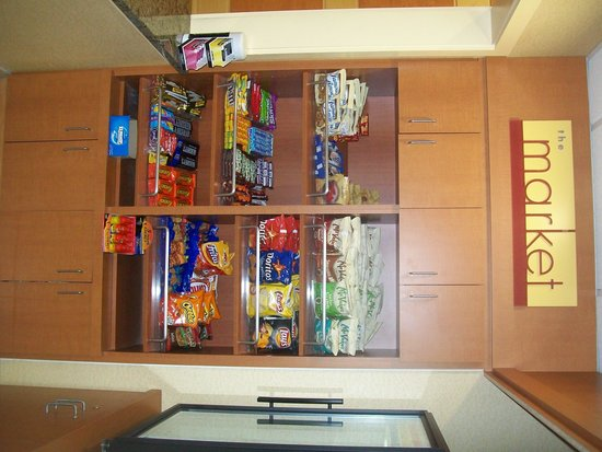 SpringHill Suites St. Petersburg Clearwater: snack area