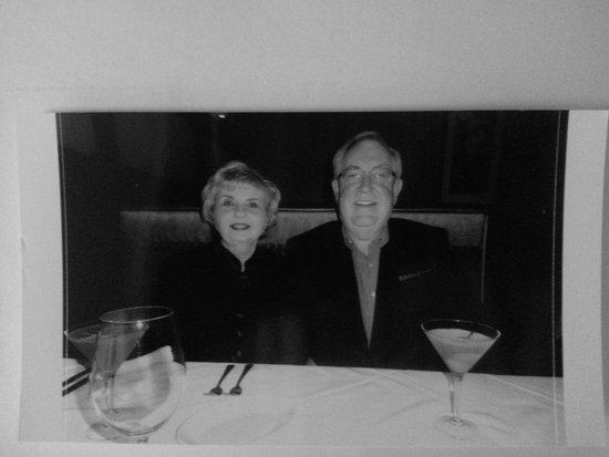 Ruth's Chris Steak House: Birthday celebration.