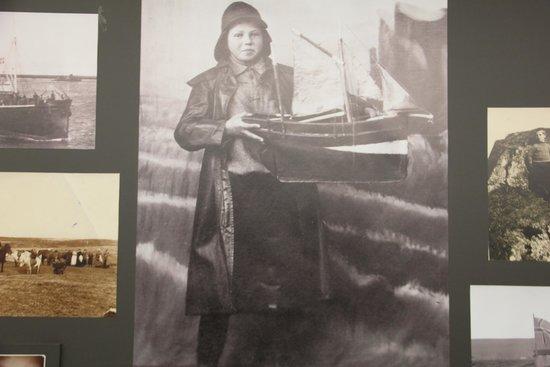 Borgarnes Museum : Proud shipowner