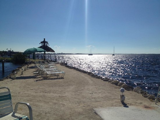 Amoray Dive Resort: praia