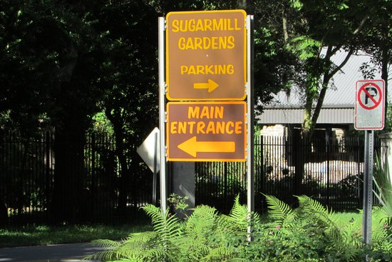 Entrance Picture Of Dunlawton Sugar Mill Gardens Port Orange Tripadvisor