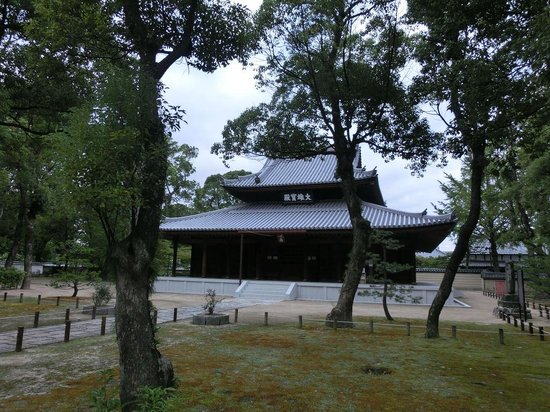 Shofuku-ji Temple: 本堂(大雄宝殿)