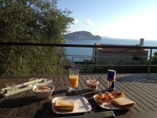 Exensian Villas & Suites : vista da varanda