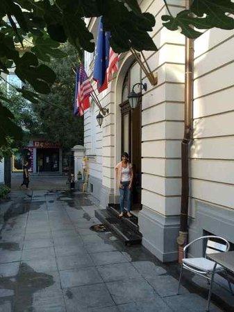 Amzei Hotel: Entryway