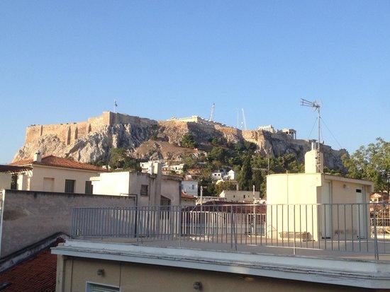 Kimon Athens Hotel: Vista do terraço