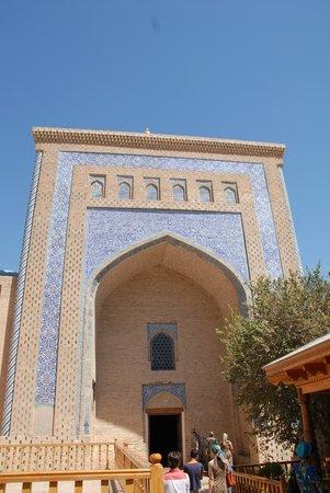 Pakhlavan Makhmud Mausoleum: L'ingresso