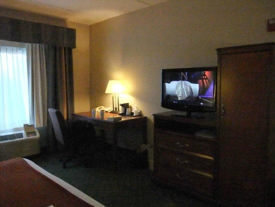 Holiday Inn Express Auburn: Spacious room