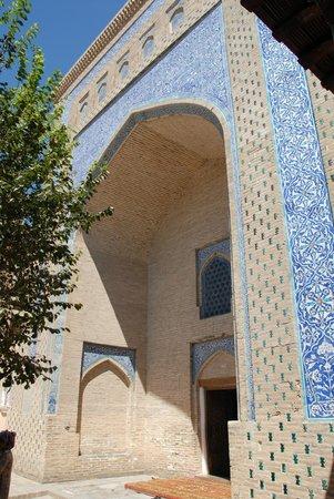 Pakhlavan Makhmud Mausoleum: La facciata
