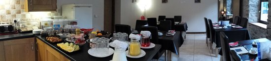 St Clears, UK: Breakfast Room