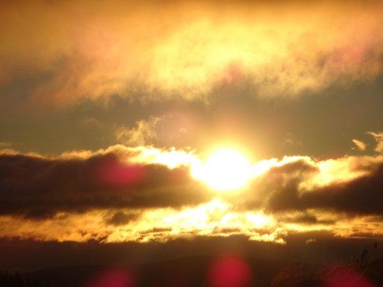 Eder Wohlfühl Hotel: Wanderung um 6Uhr Früh (Sonnenaufgang) mit Hr. EDER