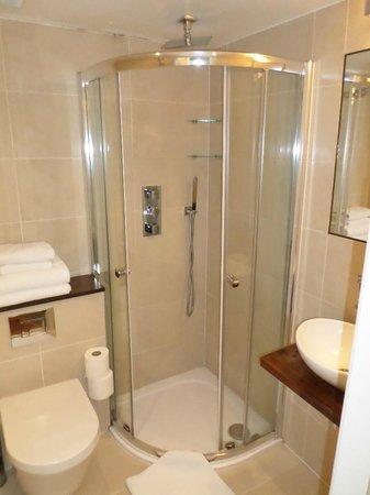 The Jade : Nice modern bathroom, good rainforest shower