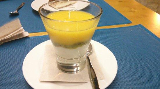 Fang i Aram Restaurant Vegetarià: Crema de Iogurt