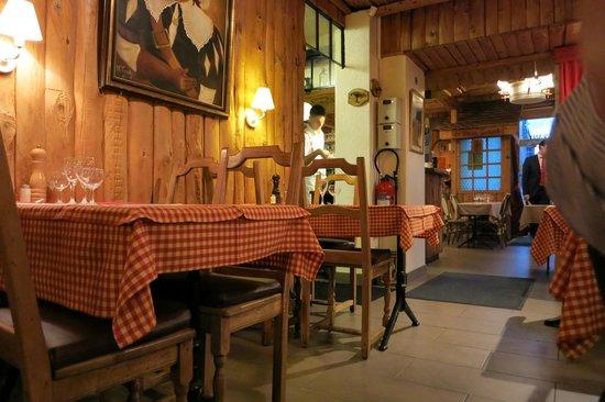Auberge de Saviese : Scorcio ristorante