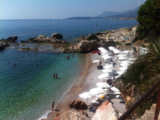 La Spiaggetta dei Balzi Rossi: Пляж Балци Росси