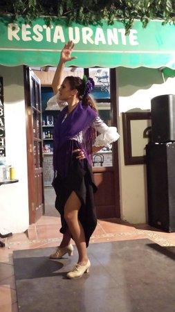 Restaurante El Azabache: Flamenco night!