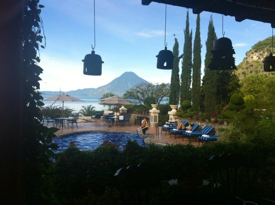 Hotel Atitlan: panorama