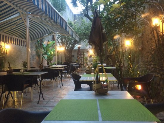 Coco Viet : The outdoor dining area from a different angle!