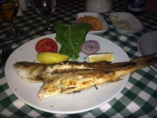 Bahce Balik Restaurant : Levrek / sea bass