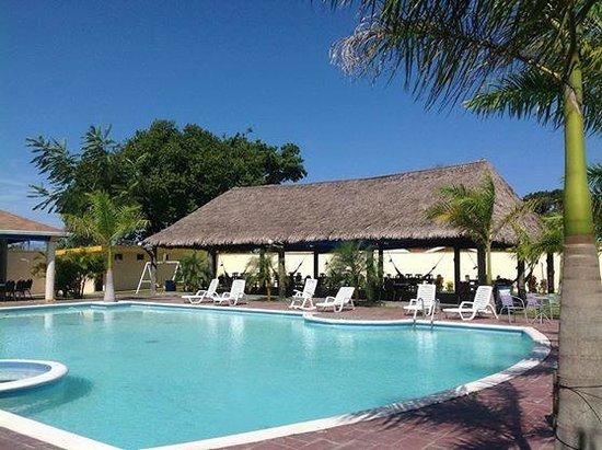 Piscina las hamacas photo de hotel las hamacas la ceiba for Hamacas de piscina