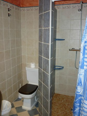 Posada Guadalupe: Baño