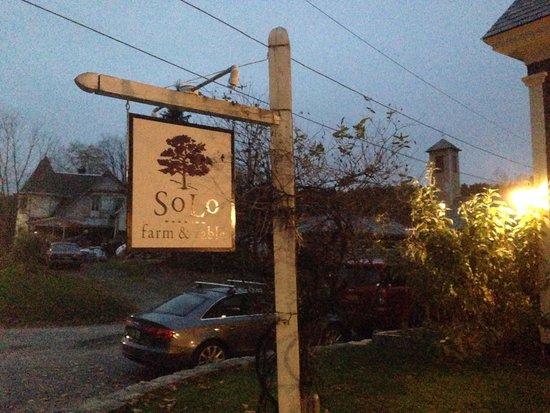 SoLo Farm and Table : Solo in SoLo.