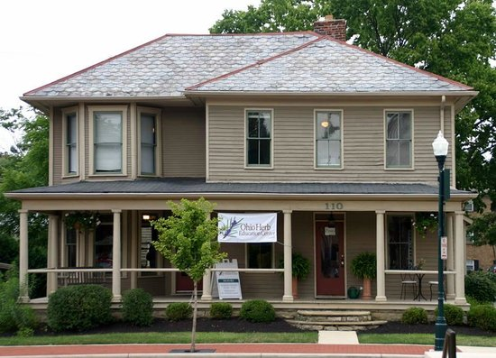 Ohio Herb Education Center: Located in the historical Nafzer-Miller House