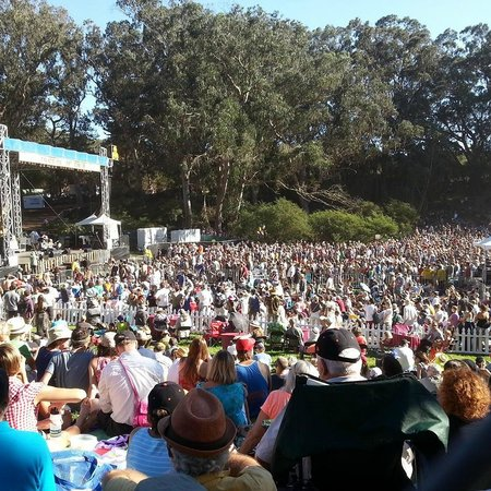 San Francisco, CA: Hardly Strictly Bluegrass Festival - Dwight Yoakam at the Towers of Gold Stage 10/5/14