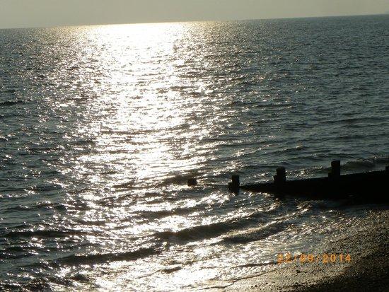 The Beach House: sundown