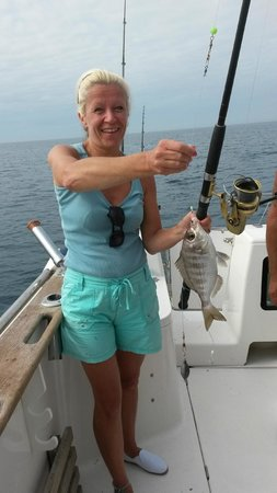 Deans Charter Fishing: Me & Catch