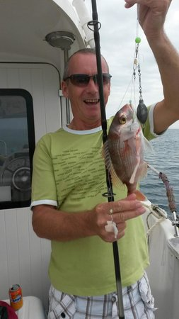 Deans Charter Fishing: Hubby & Catch