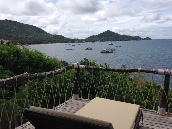 Koh Tao Cabana: My view of the bay