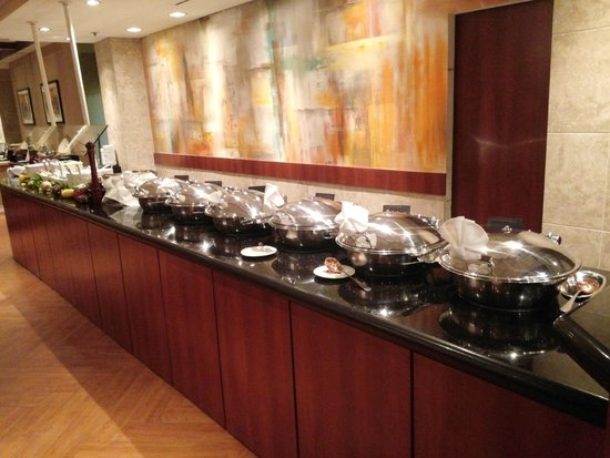 Crowne Plaza Hotel Executive Center Baton Rouge: Italian Buffet had a lot of options