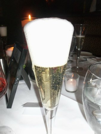 Grand Concourse: Champagne for the toast