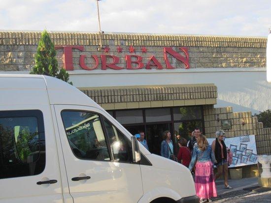 Turban Hotel Urgup: ingang van het hotel
