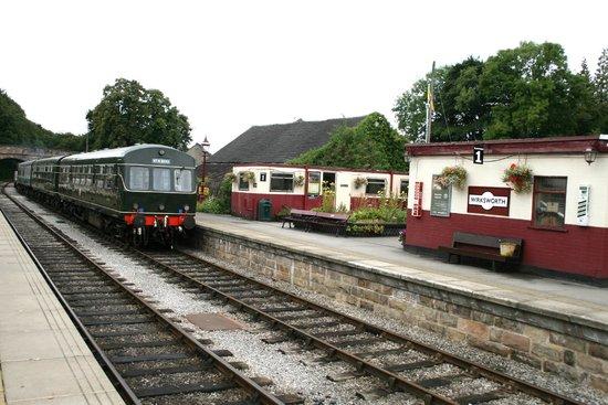 Ecclesbourne Valley Railway: Wirksworth