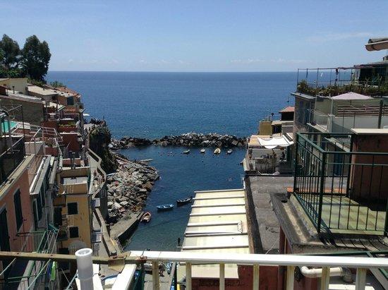 A Casa Cinque Terre Manarola: View from balcony