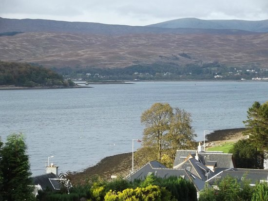 Blythedale Bed and Breakfast: The view  from our room over  Loch Linnhe.