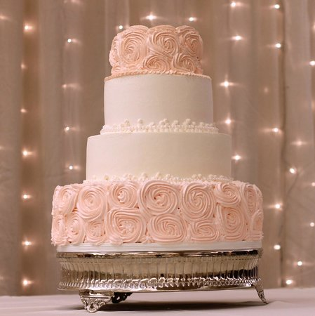 Patty S Cakes And Desserts Rosette Wedding Cake